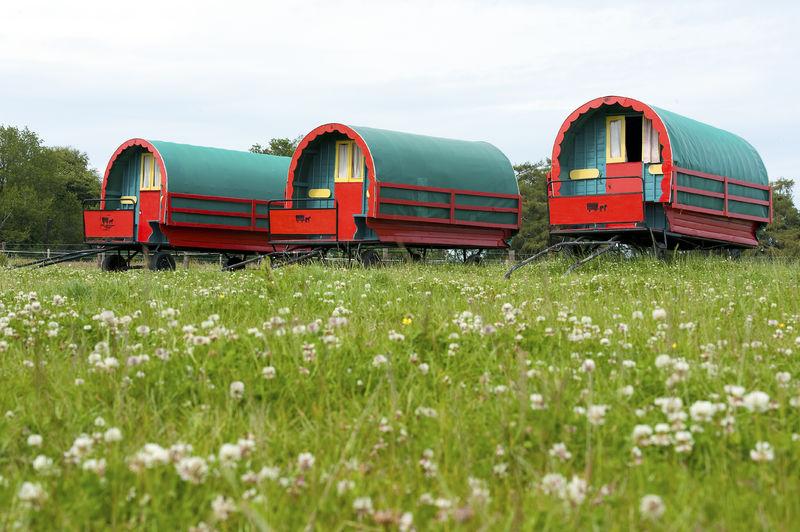 Horse Drawn Caravans, Wicklow