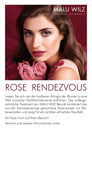 Rose Rendezvous Treatment Kleinanzeige